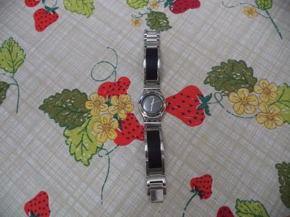 Relógio Swatch, Modelo Irony, Com Pulseira De Aço