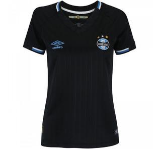 Camisa Grêmio Iii 2018/19 Umbro Feminina