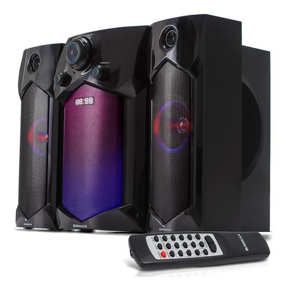 Home Theater 60w Smart Tv Radio Fm Subwofer Caixa De Som Mp3