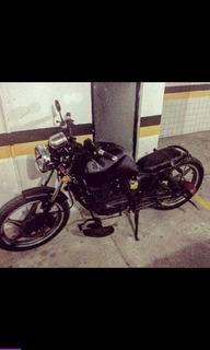 Moto Suzuki 125 Estilo Bobber