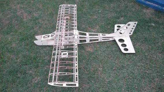 Kit Avião Aeromodelo Trainner Classic 46 1400mm Gicólor