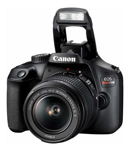Câmera Canon Eos Rebel T100 Com Lente 18-55mm
