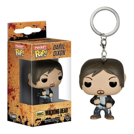Llavero Funko Pop Daryl Dixon The Walking Dead Original