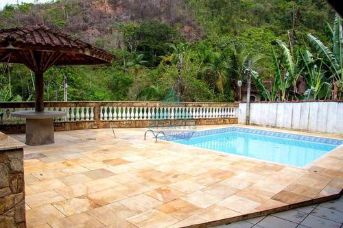 Imagem 1 de 15 de Casa Com 3 Dorms, Sertão Da Quina, Ubatuba - R$ 450 Mil, Cod: 1336 - V1336