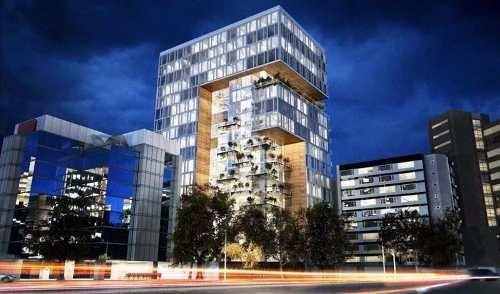 Estupendo Departamento En Preventa En La Condesa Con Excelente Vista Y Amenidades - 405c