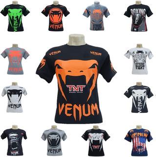 Camisas Ufc Mma Venum Jiu Jitsu Muay Thai Tapout, Unitário
