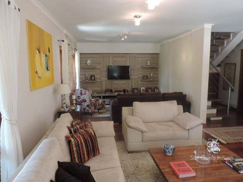 Casa Com 4 Dormitórios À Venda, 248 M² Por R$ 1.480.000 - Aldeia Da Fazendinha - Granja Viana - Carapicuíba/sp - Ca0772