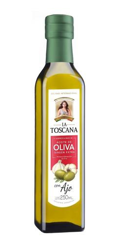 Aceite Oliva Virgen Extra La Toscana Saborizado Ajo 250 Ml