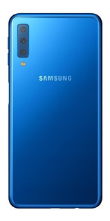 Smartphone Samsung Galaxy A7 Azul 64gb Câmera Tripla 24mp+5mp+8mp 4g Sm-a750gzbjzto
