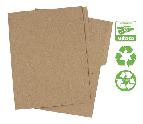 Folder Tamaño Oficio Reciclado (paq. 200 Piezas) Ecológico