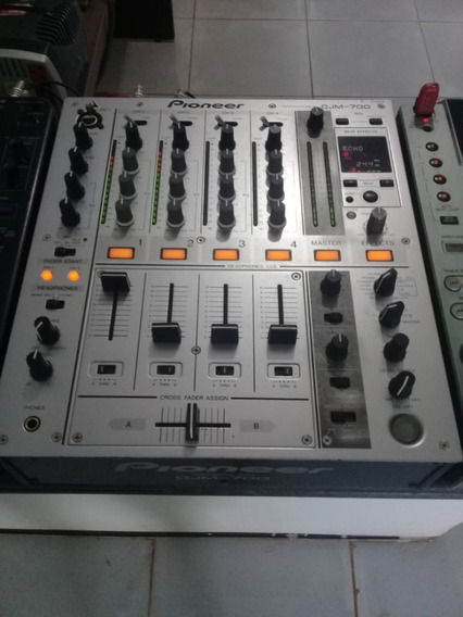 Mixer Pioneer Djm 700 Silver (((impecável))
