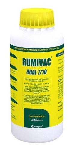 Imagem 1 de 2 de Rumivac Oral 1/10 - Vermífugo Para Bovinos E Ovinos