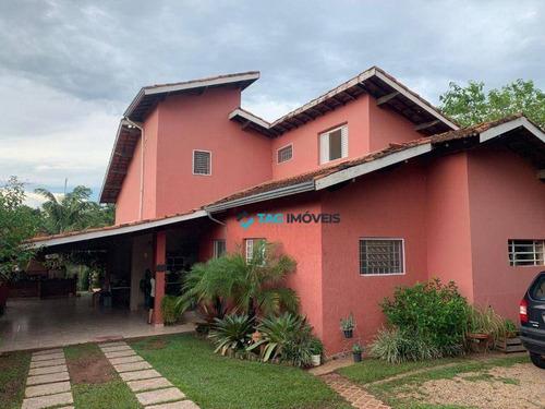 Imagem 1 de 23 de Chácara Com 2 Dormitórios À Venda, 1350 M² Por R$ 925.000 - Village Campinas - Campinas/sp - Ch0045