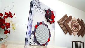 Skin Xbox One Fat, One S E One X Gears Of War 3d