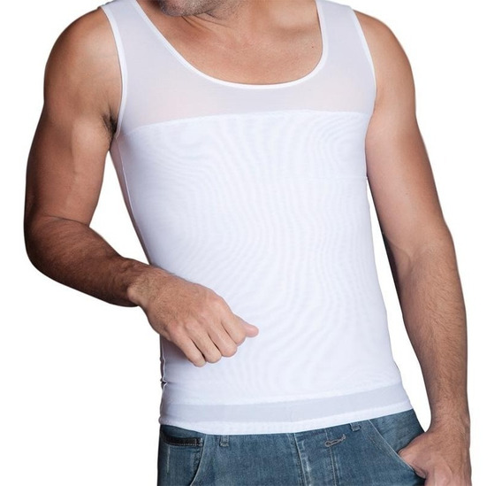 Camiseta Moldea Reduce Y Corrige Postura Bioaura Hombre