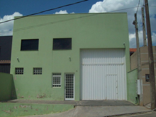 Imagem 1 de 12 de Galpão - Industrial/ Comercial - Loteamento Aída Haddad Jafet - Ga0196
