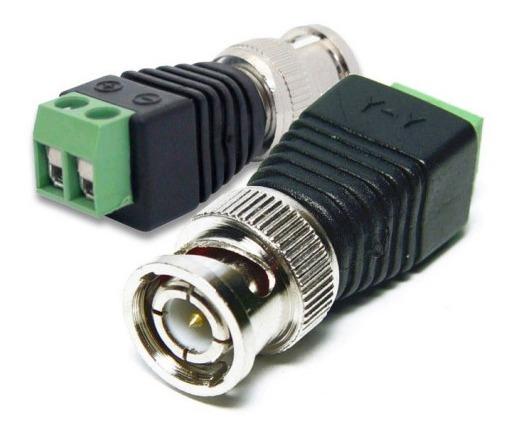 Conector Bnc Plug Tipo Macho Com Borne