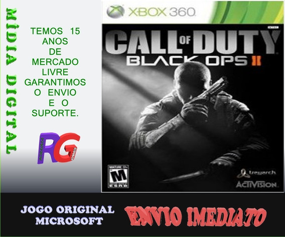 Black Ops 2 Xbox 360 Midia Digital Roraima Games