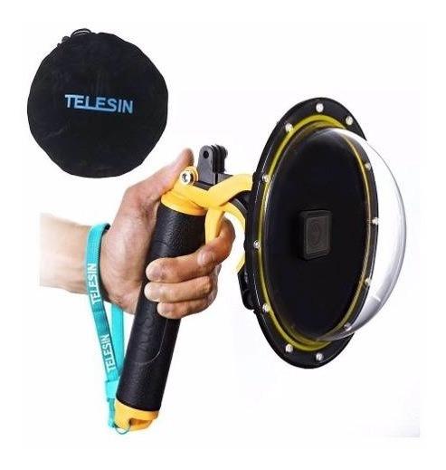 Dome Telesin - 6 Polegadas - Gopro Hero5 Hero6 Hero7 Black