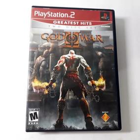 Jogo God Of War 2 Ps2 Playstation Americano Original Raro!!!