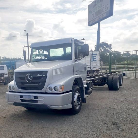 Mercedes-benz Atron 2324 No Chassi