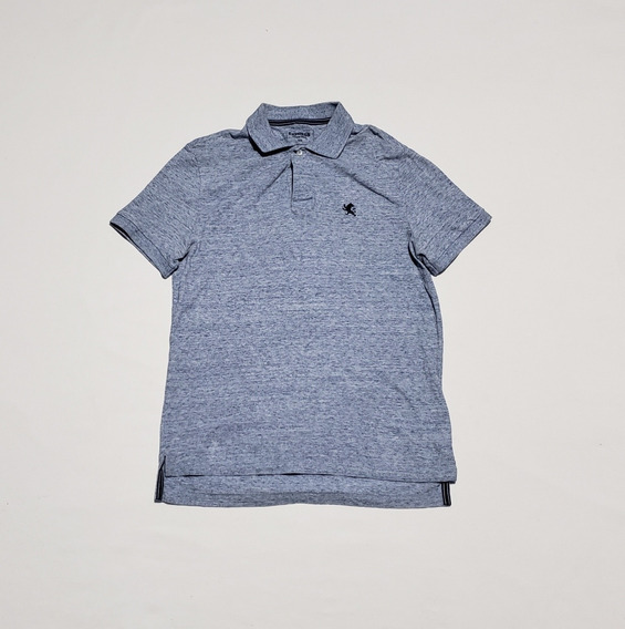 Playera Polo Express Mediana Gris/azul Original