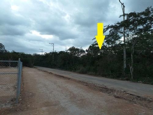 Imagen 1 de 8 de Temozon Norte Terreno En Venta  De 425.68 M2