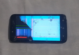Celular Motorola Moto C Plus Xt1726 (tela Quebrada)