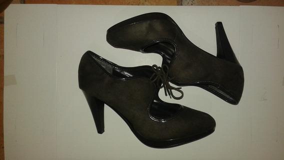 Zapatos De Temporada Color Café Oscuro Envio Gratis