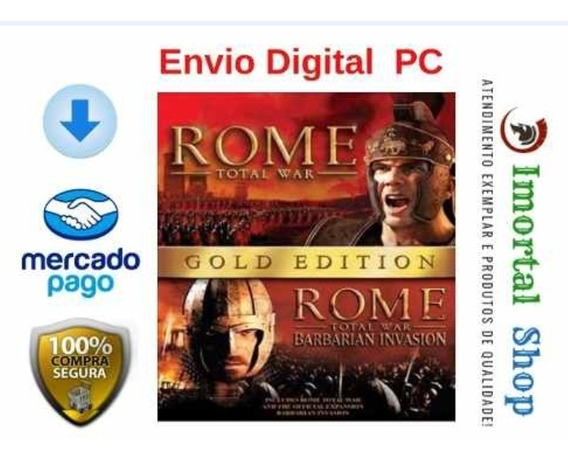 Rome Total War Gold Edition + Brinde Envio Digital Pc