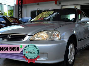 Honda Civic Lx Completo + Rodas
