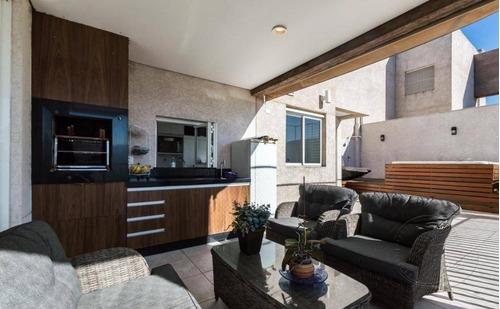 Cobertura Com 4 Dormitórios À Venda, 198 M² Por R$ 2.120.000,00 - Centro De Apoio I (alphaville) - Santana De Parnaíba/sp - Co0013