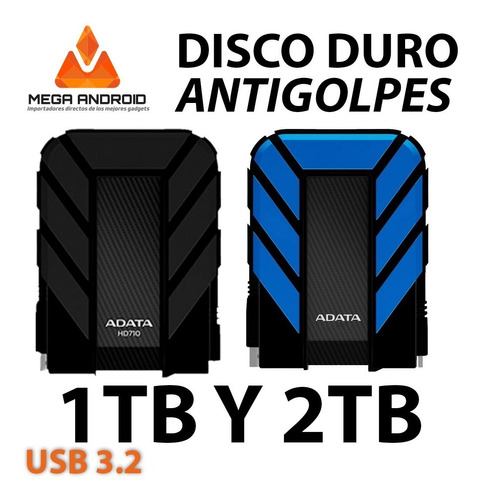 Discos Duros Externos Adata Hd710 Pro Anti Golpes 1tb 2tb