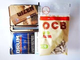 Kit Para Armar Cigarrillos Máquina Automática Tabaco Filtros
