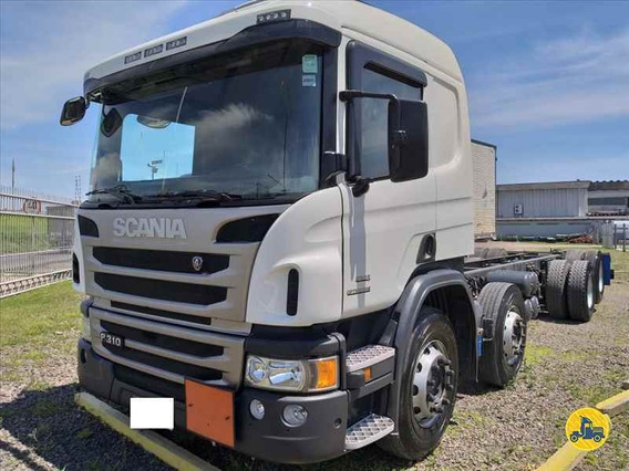 Scania P 310 8x2 Bitruck 2014 Chassis