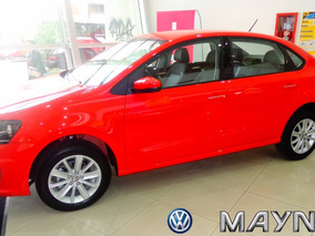 Volkswagen Polo Comfortline Tiptronic 2017 Vw 0km Rojo 5ptas