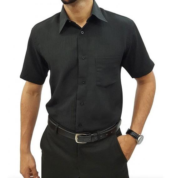Camisa Social Masculina M Longa
