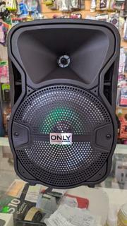 Parlante Bluetooth 800 W Fm Usb + Micrófono