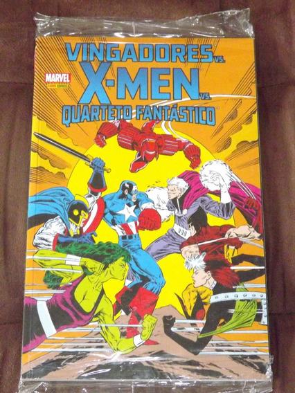 Hq Vingadores Vs. X-men Vs. Quarteto Fantástico - Marvel