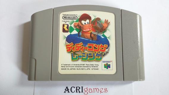 Diddy Kong Racing N64 Nintendo Versão Japonesa!!