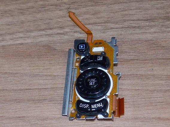 Teclado Da Camera Canon Sx120is
