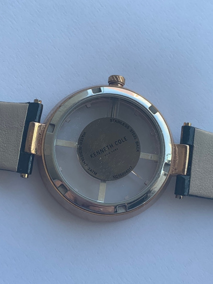Reloj Kenneth Cole Negro Original