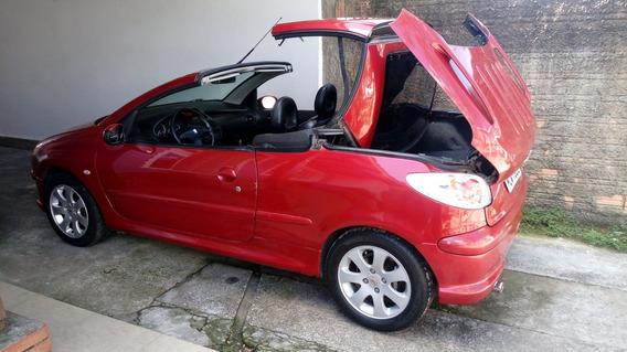 Peugeot 206 Cc Conversivel 1.6 16v Barbada.