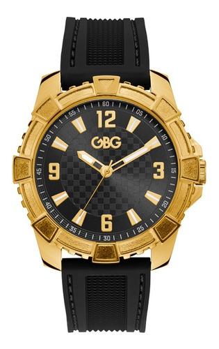 Reloj G By Guess Explorer Caballero G79116g1 Negro
