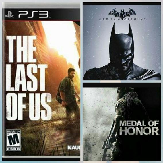 The Last Of Us,batman Oringins,medal Of Honor
