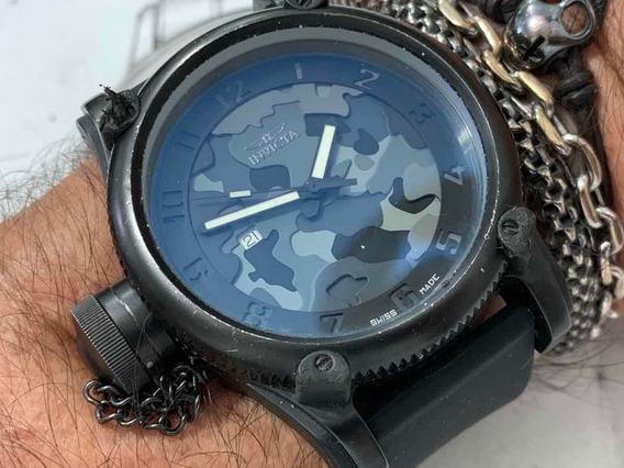 Invicta Model Nº 1199 Night Owl Wr100m Camuflado Black