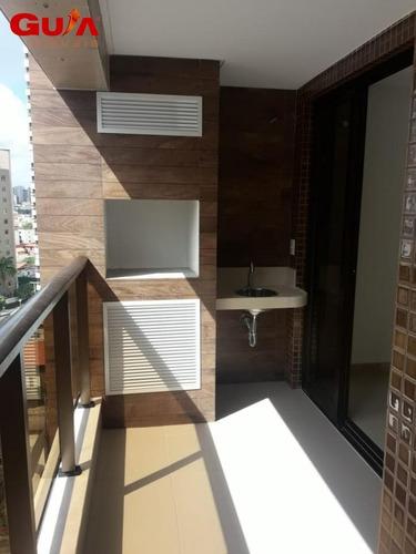 Imagem 1 de 15 de Apartamento Com 03 Suítes No Meireles - 1593
