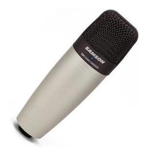 Microfono A Condesador De Estudio 40 -18khz Cardiode Samson