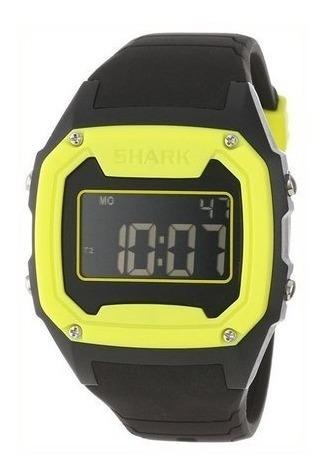 Relógio Freestyle Killer Shark Silicon Preto Amarelo