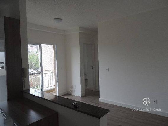 Apartamento Com 2 Dormitórios À Venda, 47 M² Por R$ 230.000 - Villas Da Granja - Granja Viana - Carapicuíba/sp - Ap0171